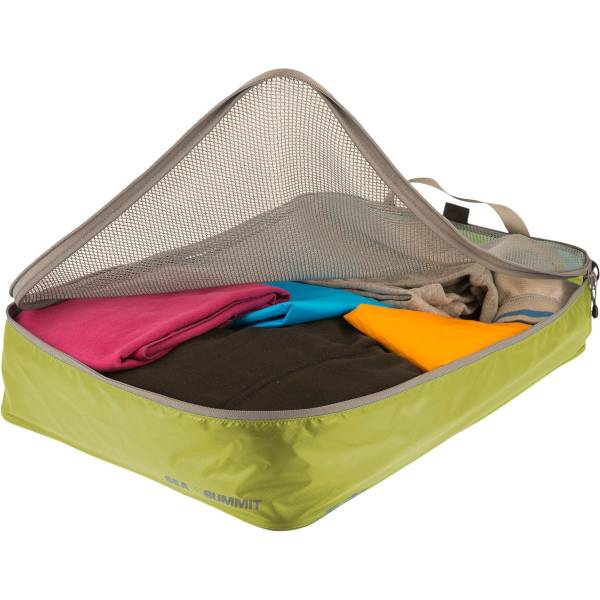 Sea to Summit TravellingLight™ Garment Mesh Bags Größe L lime-grey - Bild 2