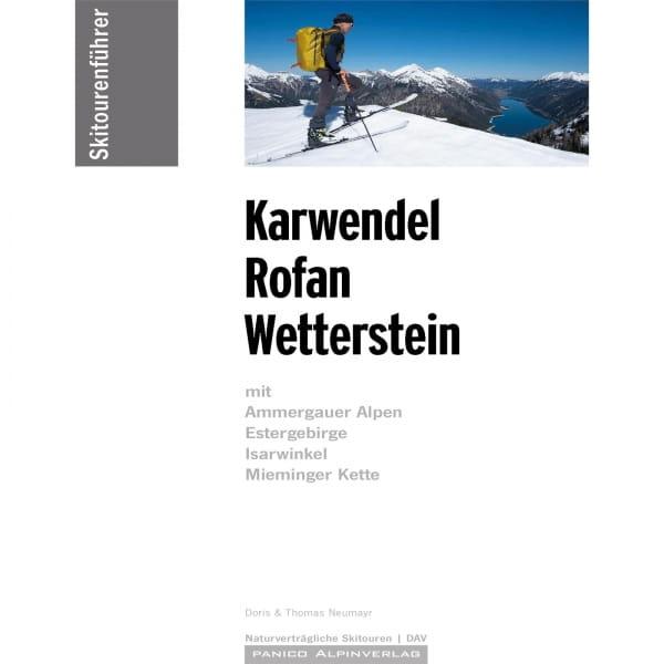 Panico Verlag Karwendel-Rofan-Wetterstein - Skitour Führer - Bild 1