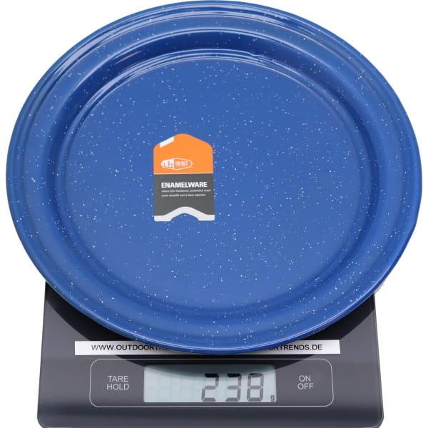 GSI Plate 10.375 - Enamel Teller blue - Bild 2