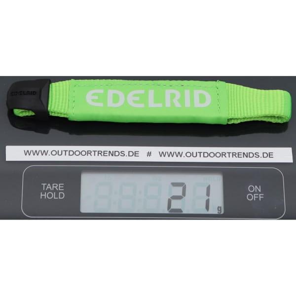 Edelrid Logo Sling Ambassador 15/22 mm - Schmal-Breit-Schlinge neon green - Bild 2