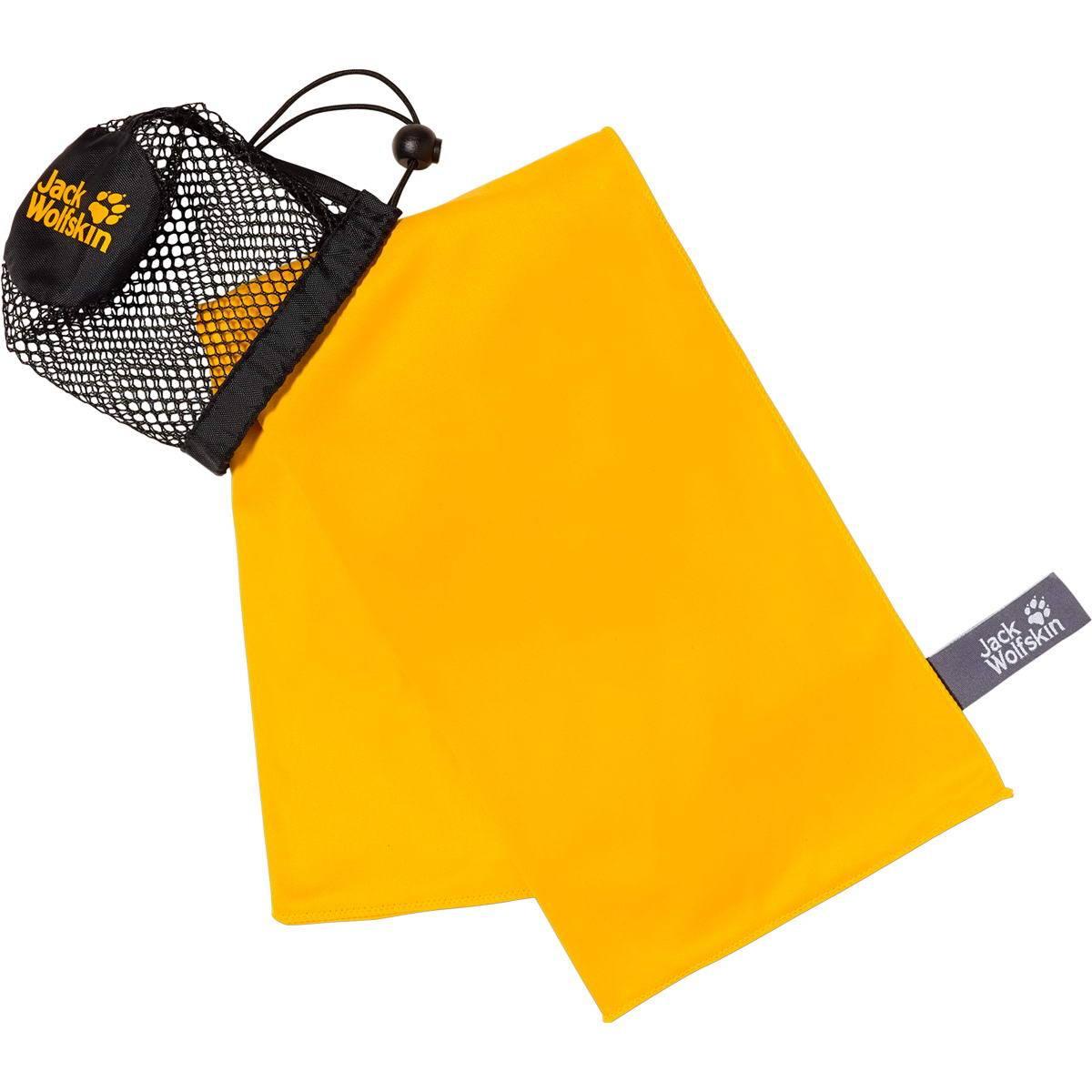 Jack Wolfskin Wolftowel Light L - Outdoor-Handtuch burly yellow