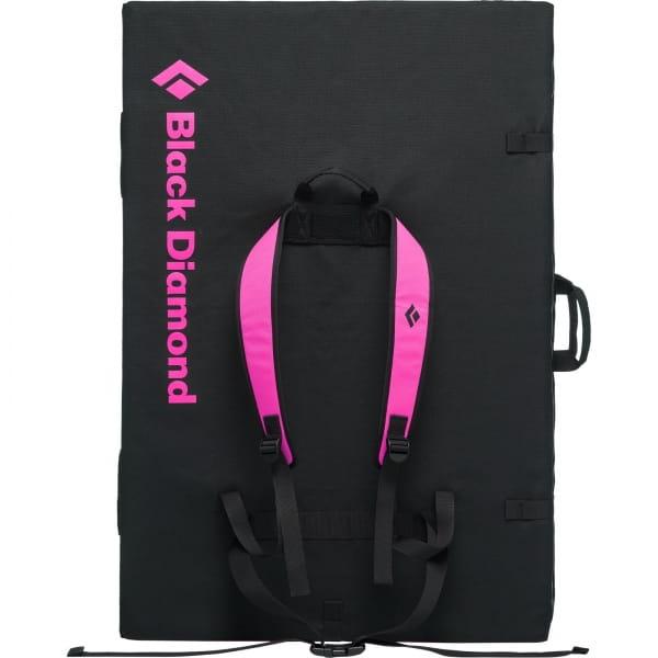 Black Diamond Circuit Crash Pad - Boulder-Matte black-ultra pink - Bild 2