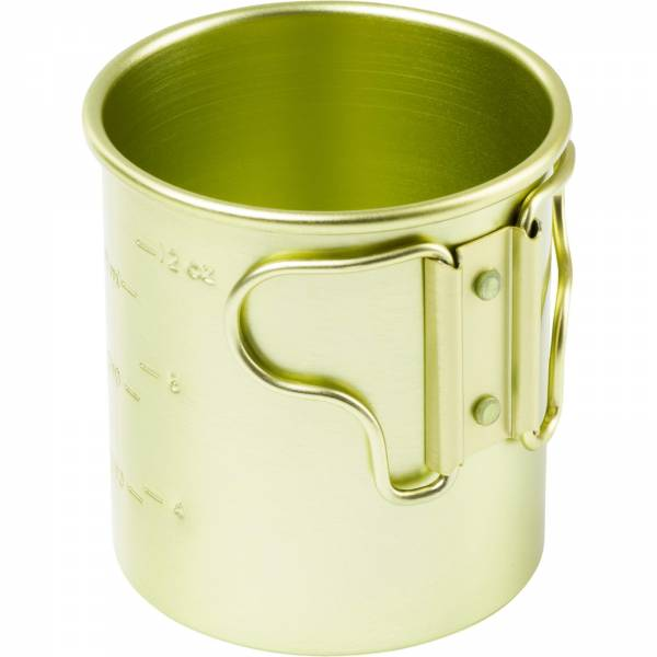GSI Bugaboo 14 fl. oz. Cup  - Aluminium Becher green - Bild 5