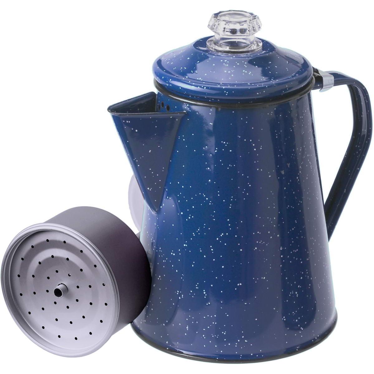 GSI Percolator 8 Cup - Enamel Kaffeekocher blue - Bild 1