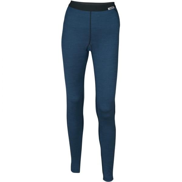PALGERO Damen SeaCell-Merino Unterhose lang blau meliert - Bild 1