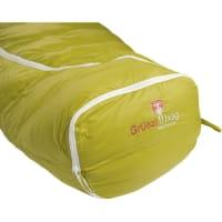 Vorschau: Grüezi Bag Biopod DownWool KidsTeen - Daunen- & Wollschlafsack citron - Bild 11