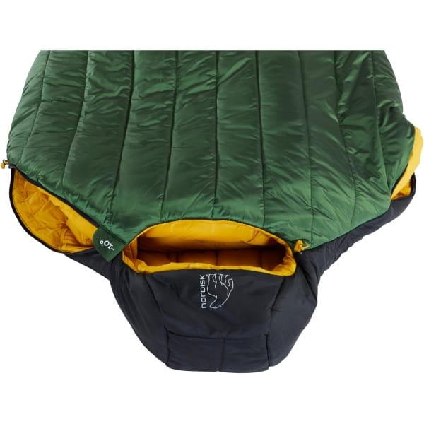 Nordisk Gormsson -10° Mummy - Winterschlafsack artichoke green-mustard yellow-black - Bild 12