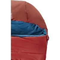 Vorschau: Nordisk Puk +10° Blanket - Sommerschlafsack sun dried tomato-majolica blue-syrah - Bild 5