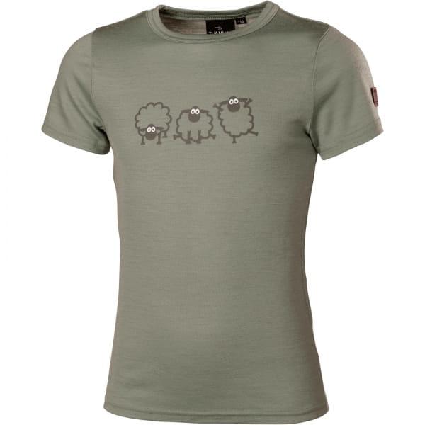 IVANHOE UW Jr Jive Sheep Junior T-Shirt - Funktionsshirt lichen green - Bild 4