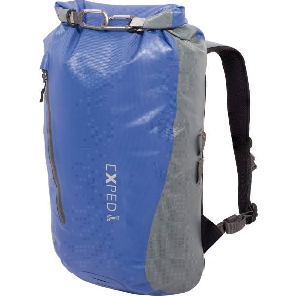 EXPED Torrent 20 - Rolltop-Daypack blue-grey - Bild 1
