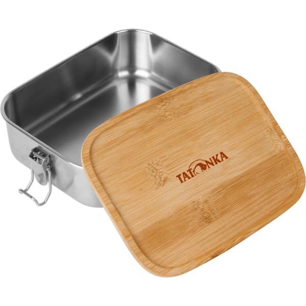 Tatonka Lunch Box I Bamboo 1000 ml - Edelstahl-Proviantdose stainless - Bild 1
