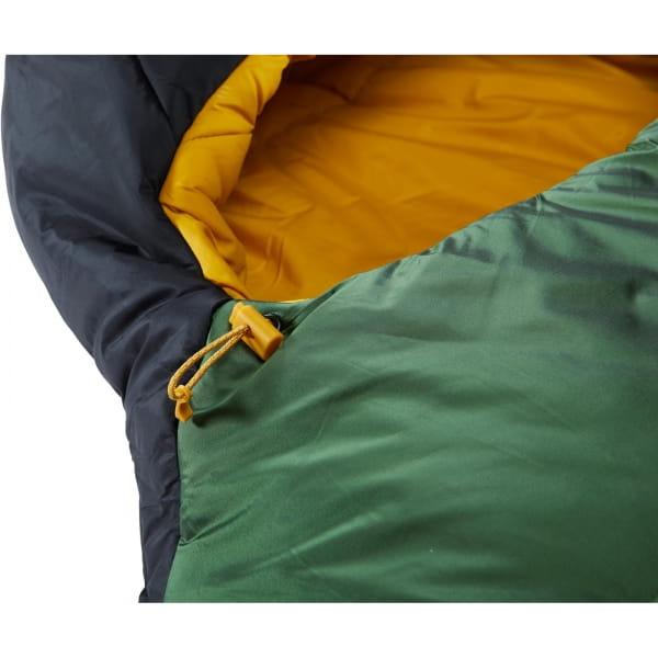 Nordisk Gormsson -2° Mummy - 3-Jahreszeiten-Schlafsack artichoke green-mustard yellow-black - Bild 9