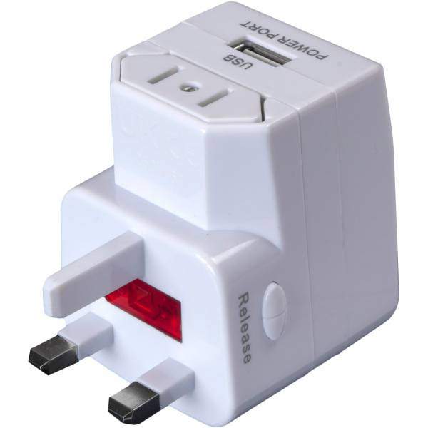 Basic Nature Universal USB Steckeradapter - Bild 3