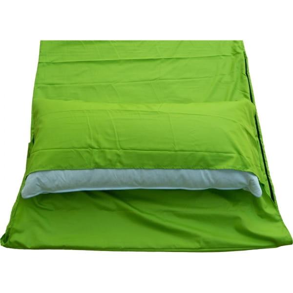 Origin Outdoors Sleeping Liner Mikrofaser grün - Bild 5