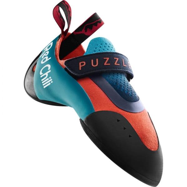 Red Chili Puzzle - Kinder- & Jugend-Kletterschuh neon coral - Bild 1