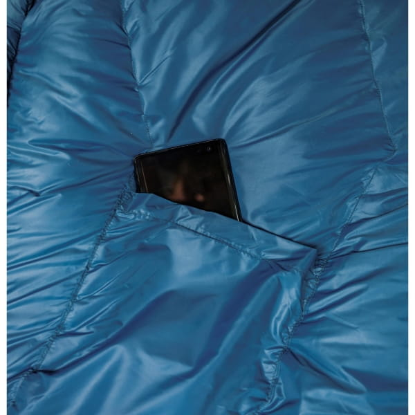 Grüezi Bag Biopod DownWool Ice Women - Daunen- & Wollschlafsack ice blue - Bild 8