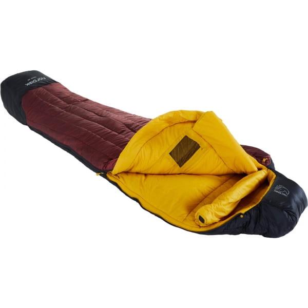 Nordisk Oscar -20° Mummy - Winterschlafsack rio red-mustard yellow-black - Bild 1