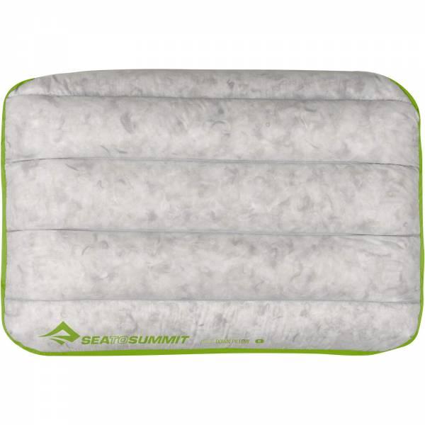 Sea to Summit Aeros Pillow Down Regular - Kopfkissen lime - Bild 7