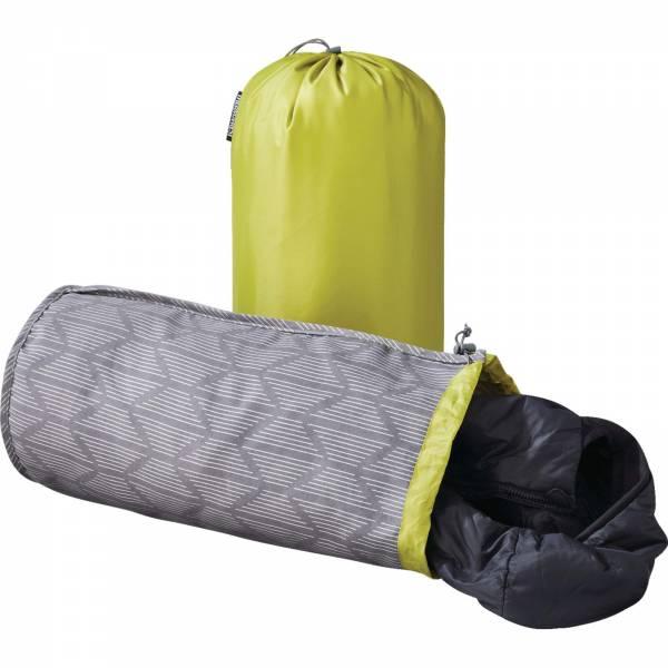 Therm-a-Rest Stuff Sack Pillow - Kopfkissen-Packsack limone-grey print - Bild 1