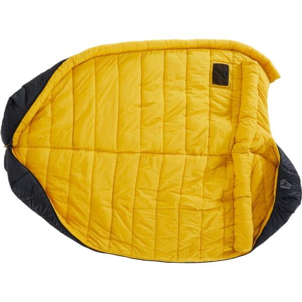Nordisk Puk -10° Mummy - Winterschlafsack true navy-mustard yellow-black - Bild 8