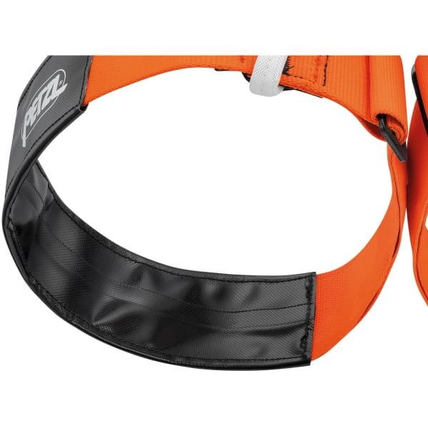 Petzl Aven - Speläogurt orange-schwarz - Bild 2