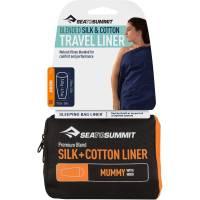 Sea to Summit Silk Cotton Travel Liner Mummy Hood