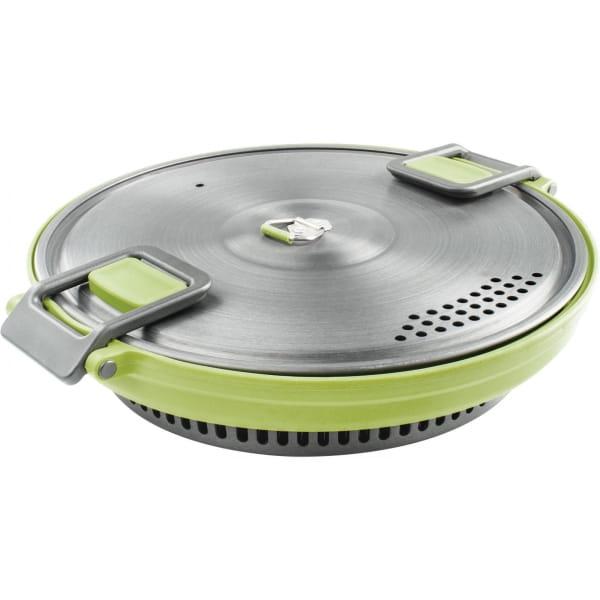 GSI Escape Set - faltbarer Kochtopf und Pfanne green - Bild 8