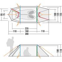 Vorschau: Tatonka Arctis 2.235 PU - Zwei-Personen-Zelt - Bild 8