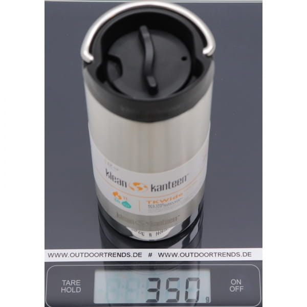 klean kanteen TKWide 12oz Café Cap - 355 ml Thermo-Becher - Bild 5