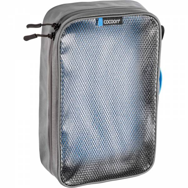 COCOON Packing Cube with Laminated Net Top M - Packtasche grey-blue - Bild 3