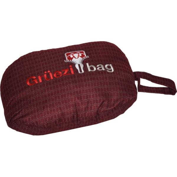 Grüezi Bag Feater - Beheizbares Schlafsack-Inlett darkred - Bild 8
