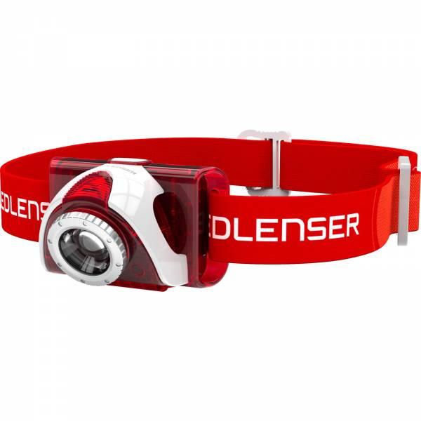 Ledlenser SEO 5 - Kopflampe rot - Bild 1