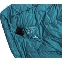 Vorschau: Grüezi Bag Biopod DownWool Subzero Comfort - Daunen- & Wollschlafsack autumn blue - Bild 8