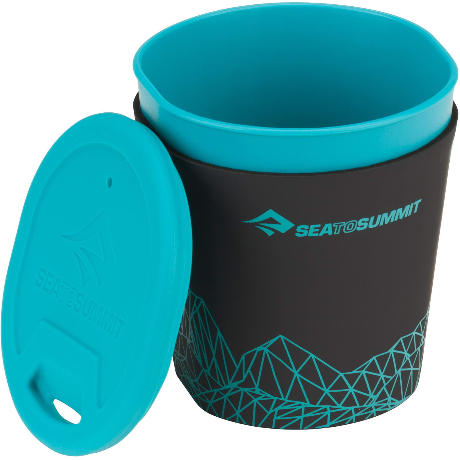 Sea to Summit DeltaLite Insul Mug - Thermobecher pacific blue - Bild 1