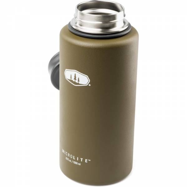 GSI MicroLite 1000 Twist - Thermoflasche olive - Bild 11