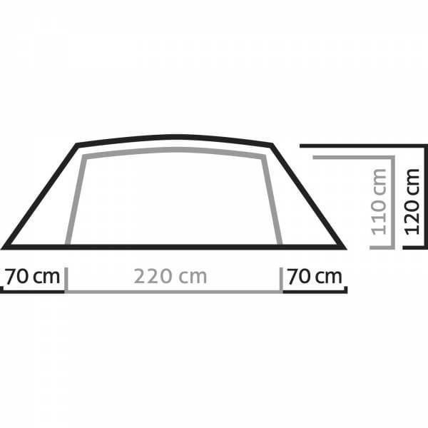 Salewa Denali IV - Kuppelzelt - Bild 4