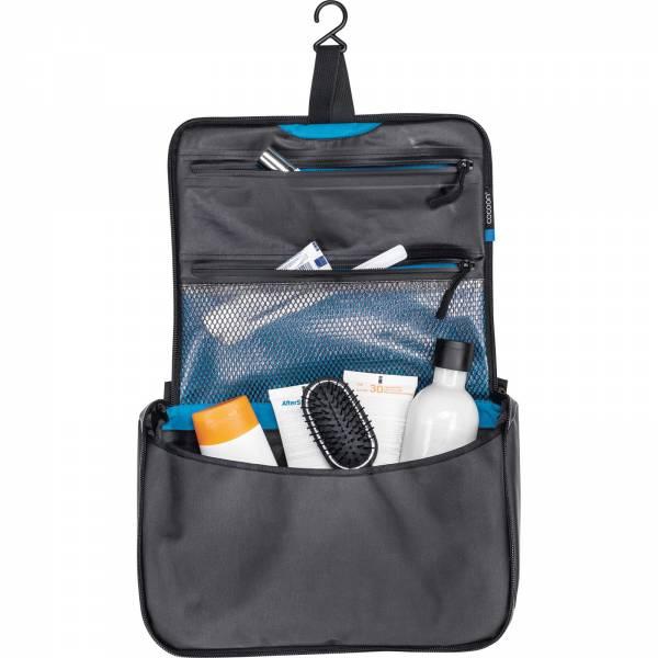 COCOON Toiletry Kit Allrounder - Kulturbeutel grey-black-blue - Bild 2