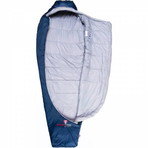 Grüezi Bag Biopod Wolle Zero - Wollschlafsack night blue - Bild 2