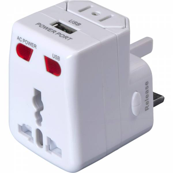 Basic Nature Universal USB Steckeradapter - Bild 2
