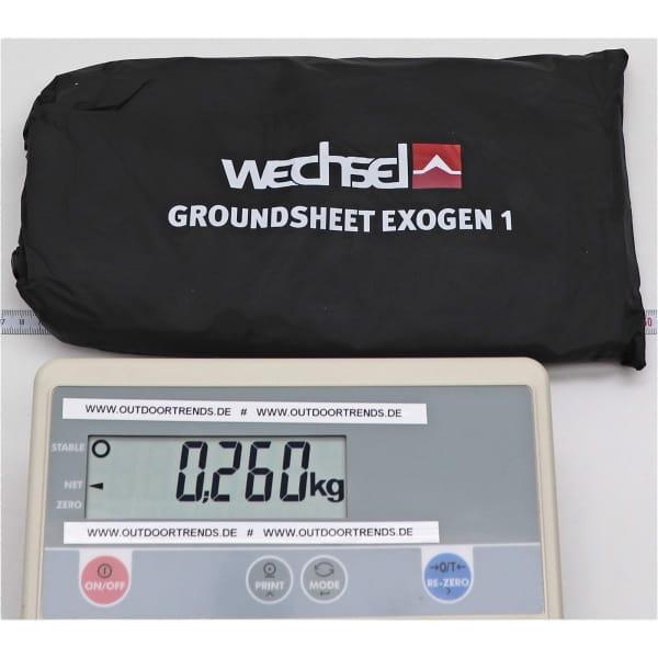 Wechsel Tents Groundsheet Exogen 1 - Zeltunterlage - Bild 2