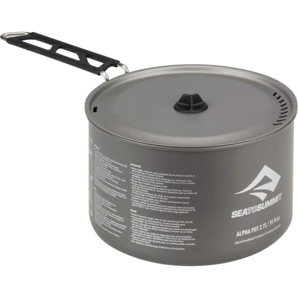 Sea to Summit Alpha Pot 2.7L - Aluminium-Kochtopf - Bild 1