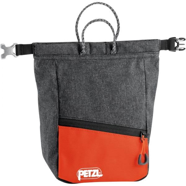 Petzl Sakab - Boulder-Chalkbag grey-orange - Bild 1