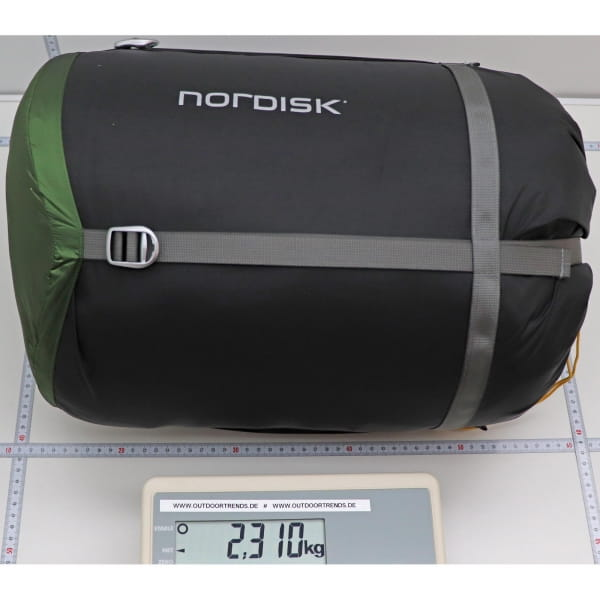 Nordisk Gormsson -20° Mummy - Winterschlafsack artichoke green-mustard yellow-black - Bild 2