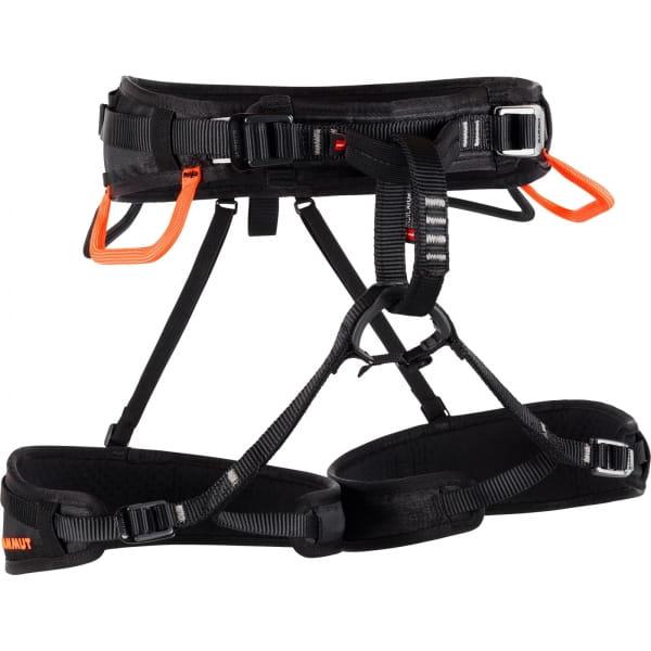 Mammut Ophir 4 Slide - Kletter-Gurt black-safety orange - Bild 3