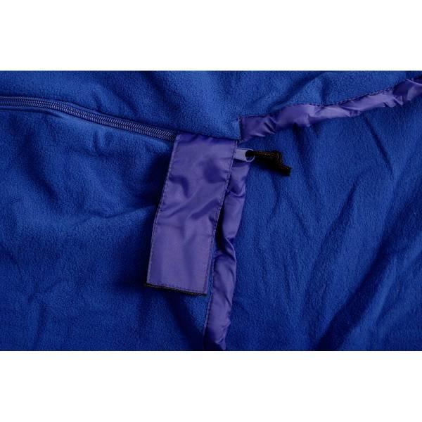 Basic Nature Fleece Schlafsack Mumie royalblue - Bild 5