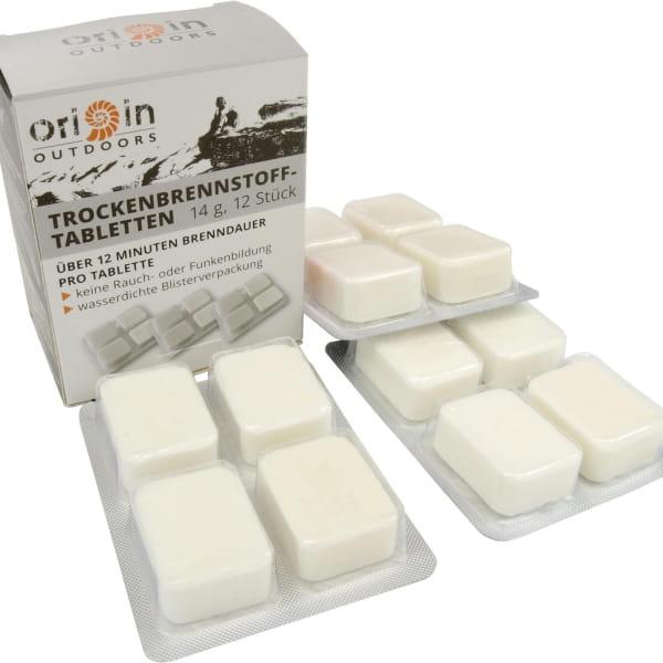 Origin Outdoors Trockenbrennstoff - Tabletten 12 x 14 g - Bild 1