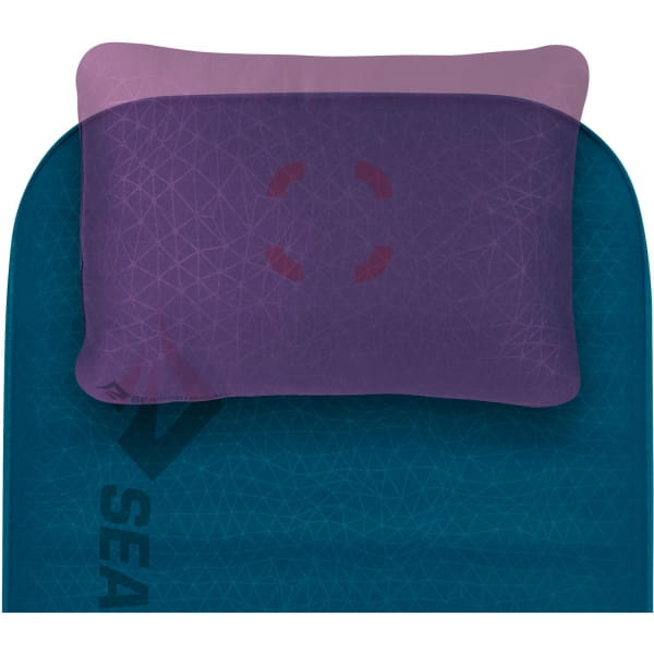 Sea to Summit Comfort Deluxe S.I. Double - Isomatte byron blue - Bild 5