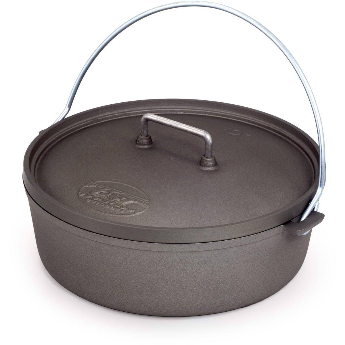 "GSI Hard Anodized 10"" Dutch Oven - Feuertopf - Bild 1"