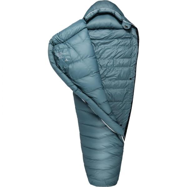 Grüezi Bag Biopod Down Hybrid Ice Cold - Daunen- & Wollschlafsack platin grey - Bild 4