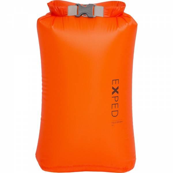 EXPED Fold Drybag UL - Packsack orange - Bild 3
